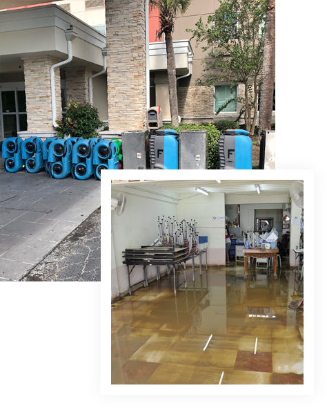 Water & Flood damage restoration service